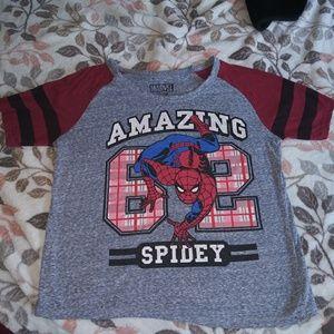 Marvel spider man t-shirt